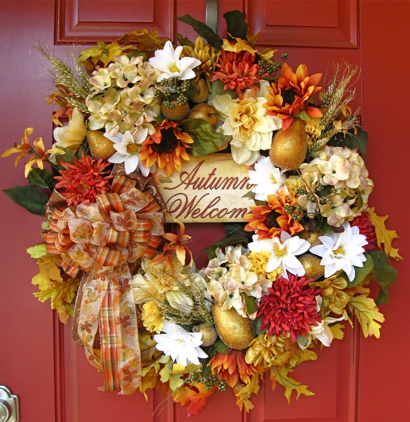 Welcome to the Lighter Side of Autumn Wreath