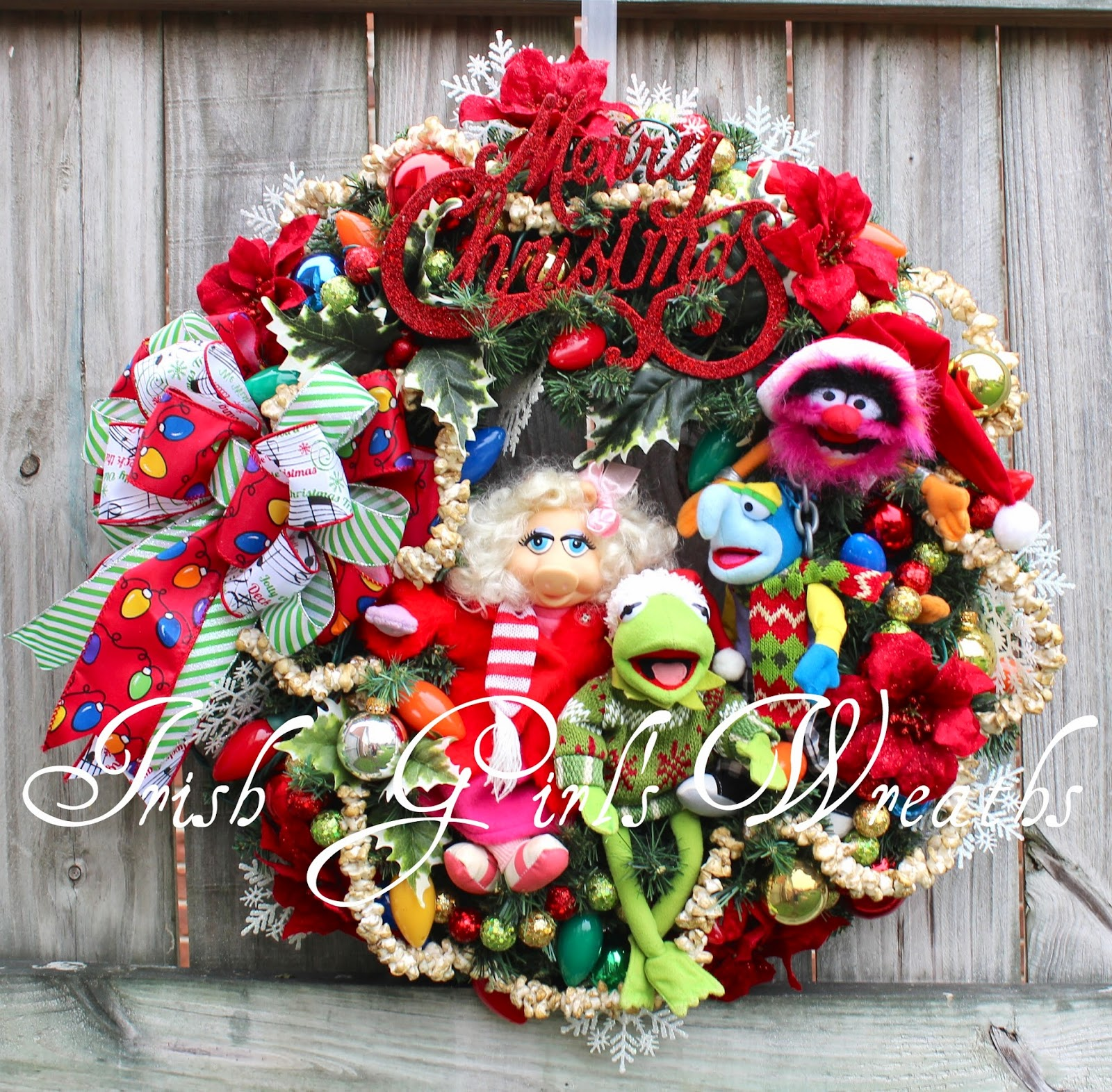Muppets Merry Merry Christmas Wreath