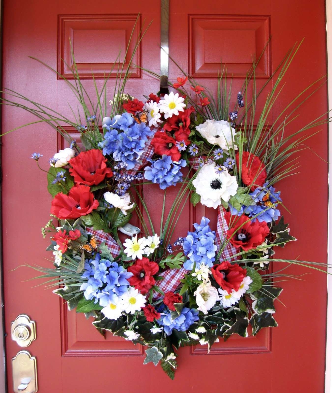 Memorial Day, Veteran's Day, 4th of July, Summertime Wreath