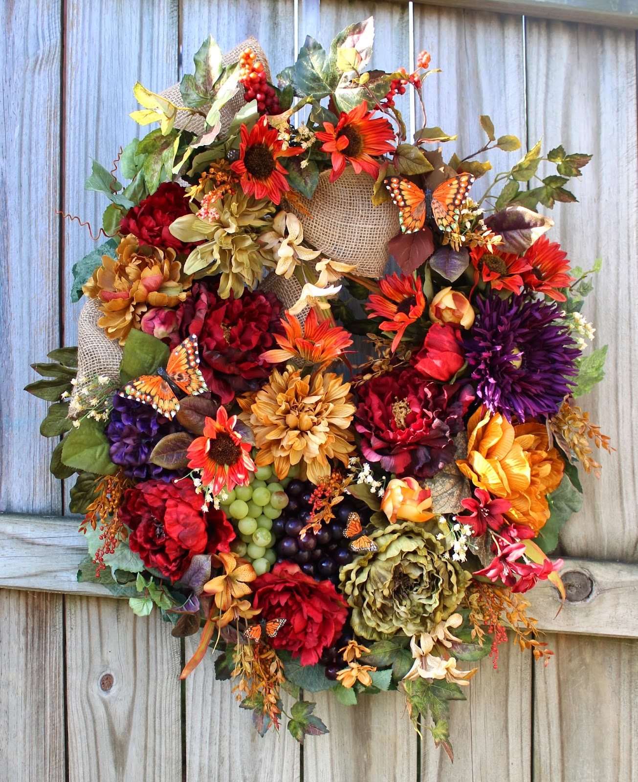 Tuscan Wreath 4