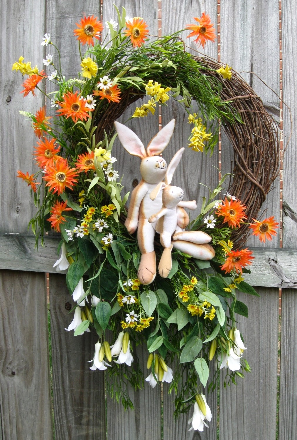 Guess How Much I Love You Bunnies Wreath, XXL, Mother's Day, Child, Nursery, Easter