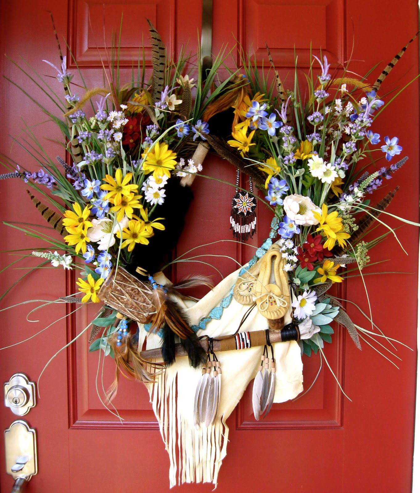 Native American Indian Wreath