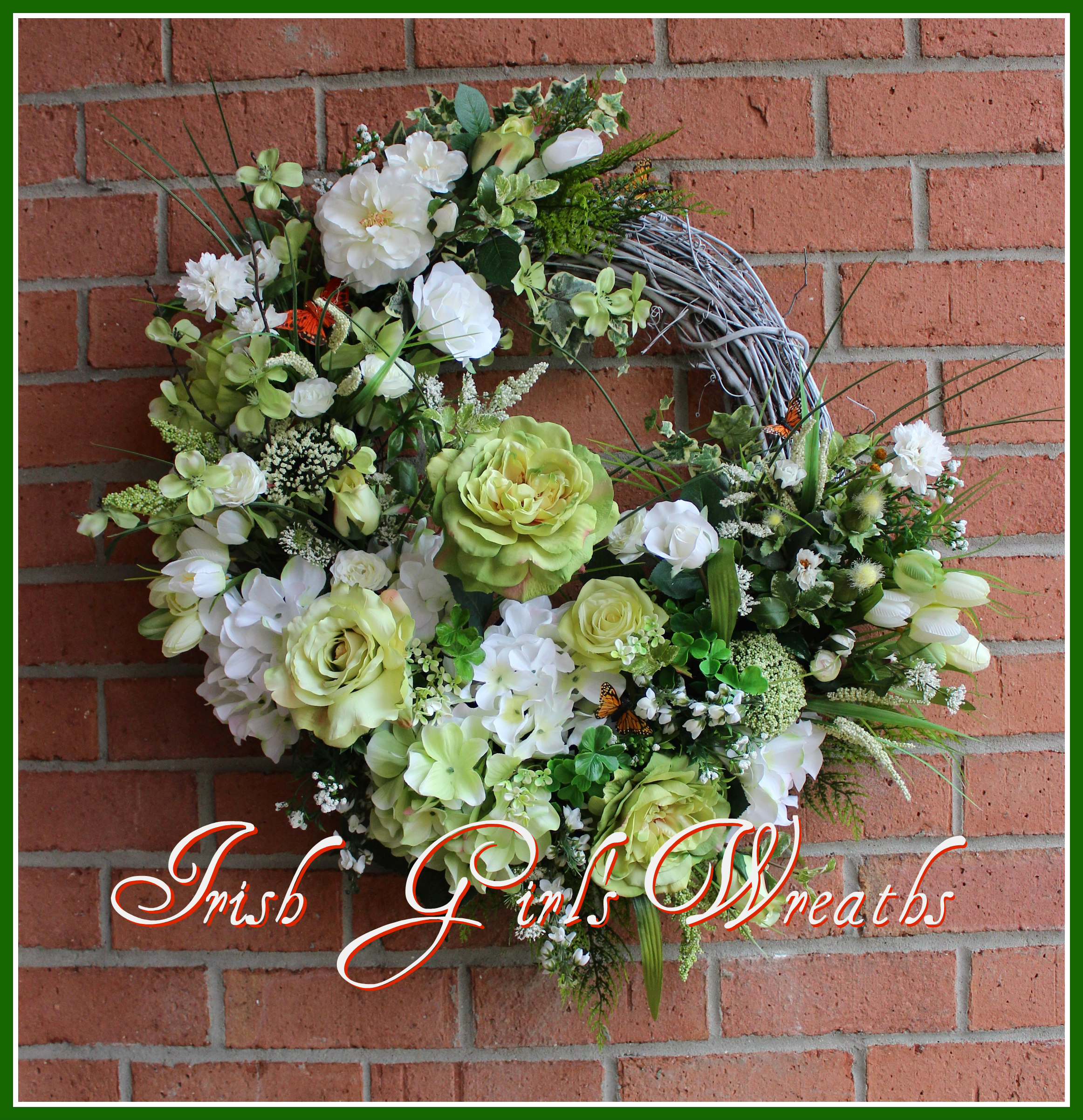 Saint Patrick's Garden Wreath- 2016